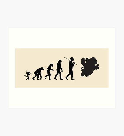 Tanuki Evolution Art Print