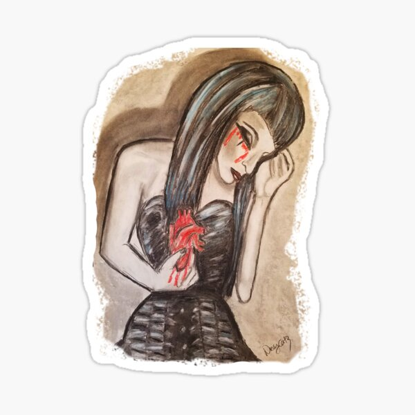 Agony Sticker