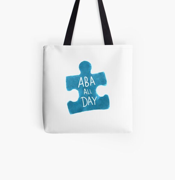 ABA All Day All Over Print Tote Bag
