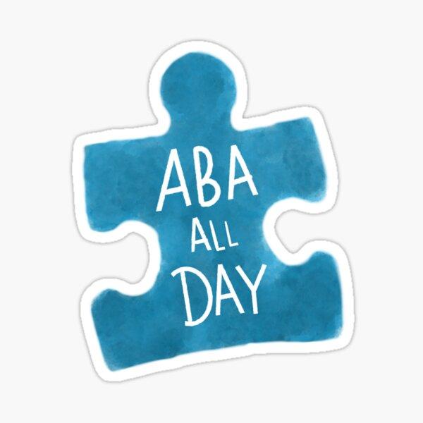 ABA All Day Sticker