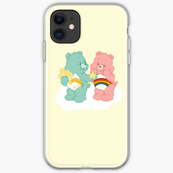 Wish and Cheer Bear - Stars iPhone Soft Case