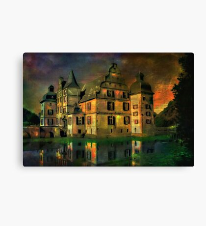Water Castle ....... Canvas Print