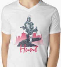 Hunt (light version) Men's V-Neck T-Shirt