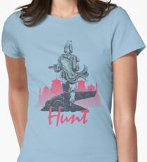 Hunt (light version) Womens Fitted T-Shirt