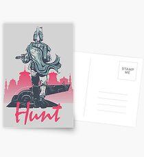 Hunt (light version) Postcards