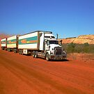 Triple Road Train by JuliaKHarwood
