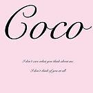 Coco by MarleyArt123