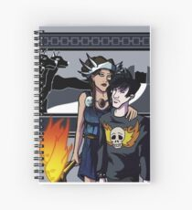 Give Up the Ghost Cover Art Spiral Notebook