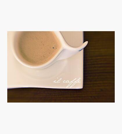 il caffè Photographic Print