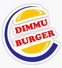 Dimmu Burger Sticker