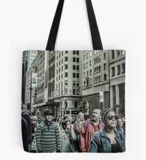 53rd & 5th Ave, New York City - 0437 Tote Bag