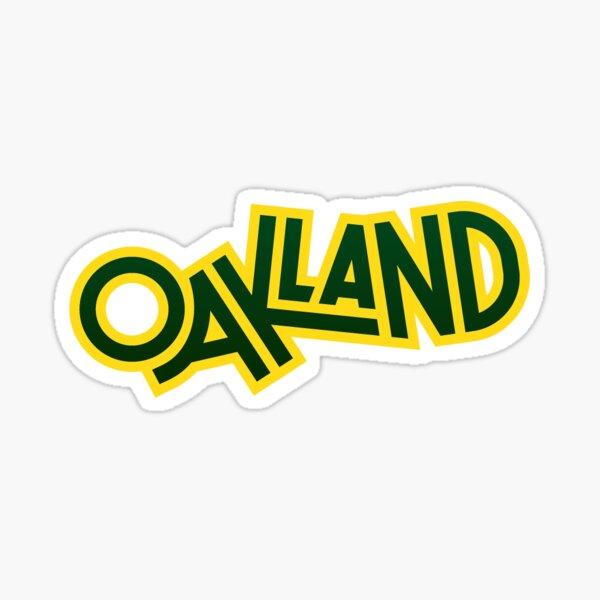 65. Oakland, CA Sticker