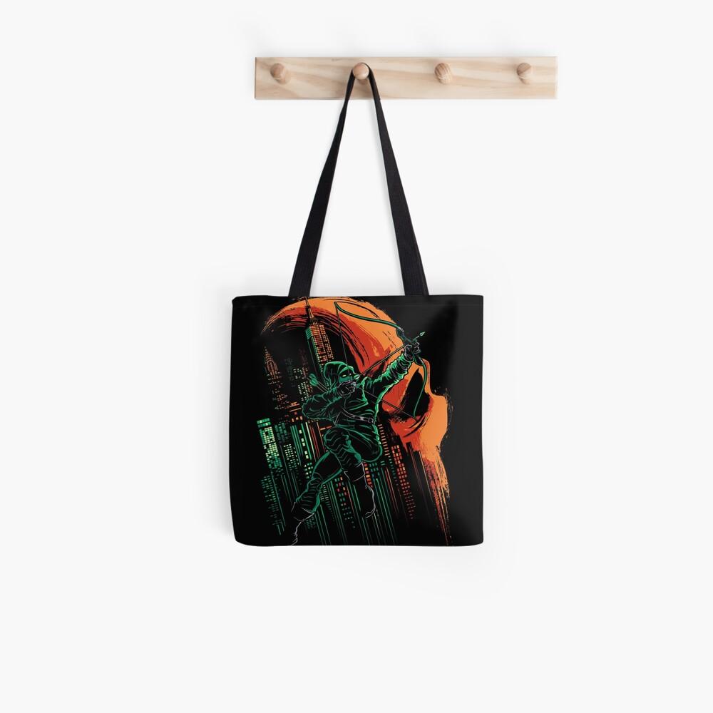 Green Vigilance Tote Bag