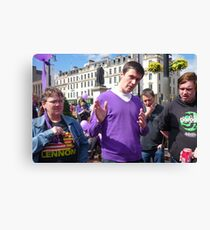 Green in Purple: Martin Bartos Canvas Print