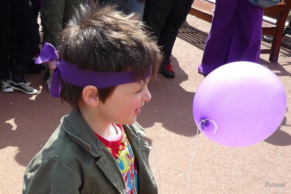 Purple Revolutionary by Yonmei