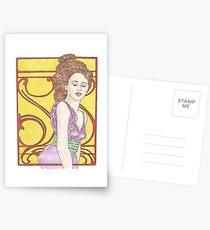 Scarlet Mucha Postcards