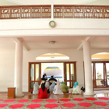 masjid hall by bluemarine