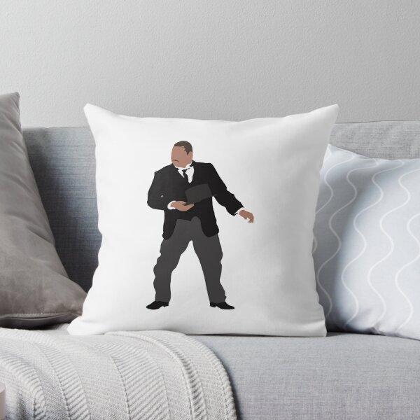 Odd Job Throw Pillow