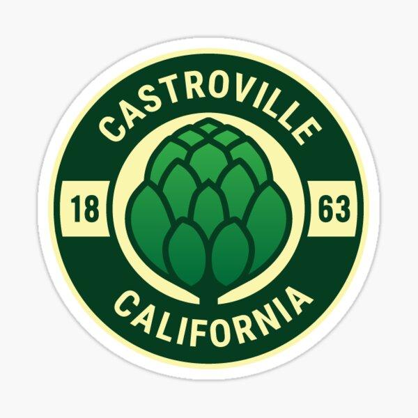 76. Castroville, CA Sticker