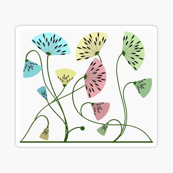 Dandyflowers - White Sticker