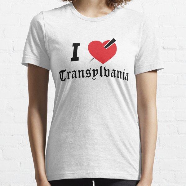Ich liebe Siebenbürgen - Morgendämmerung der schwarzen Herzen - Chaos Erholungst-stück Essential T-Shirt
