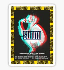 "Sunmi 1st World Tour ""Warnung"" Sticker"
