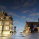 Reflections of Amsterdam - Blue Sky by AmsterSam