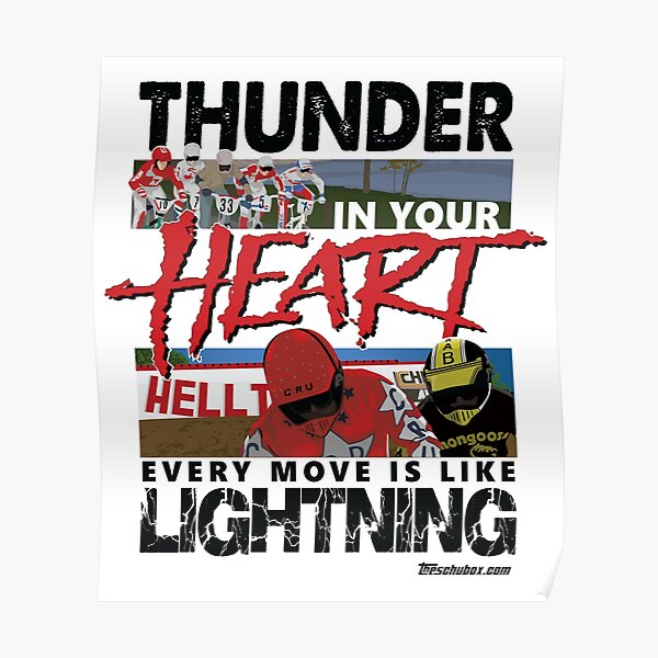 Thunder in your heart - RAD Poster