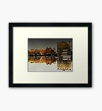 Reflections of Amsterdam - Administration Framed Print