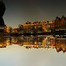 Reflections of Amsterdam - I love it by AmsterSam