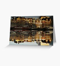 Reflections of Amsterdam - Double Vision Greeting Card
