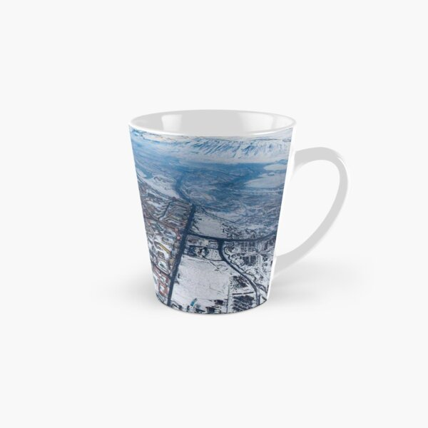 Norilsk, Aerial Photography Tall Mug