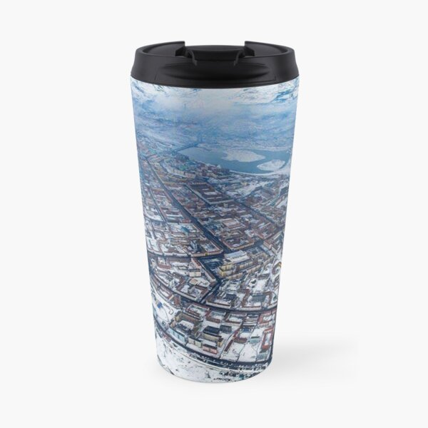 Norilsk,  Aerial Photography Travel Mug