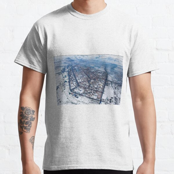 Political Poster, Norilsk, Aerial Photography Classic T-Shirt