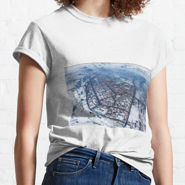 Norilsk,  Aerial Photography Classic T-Shirt