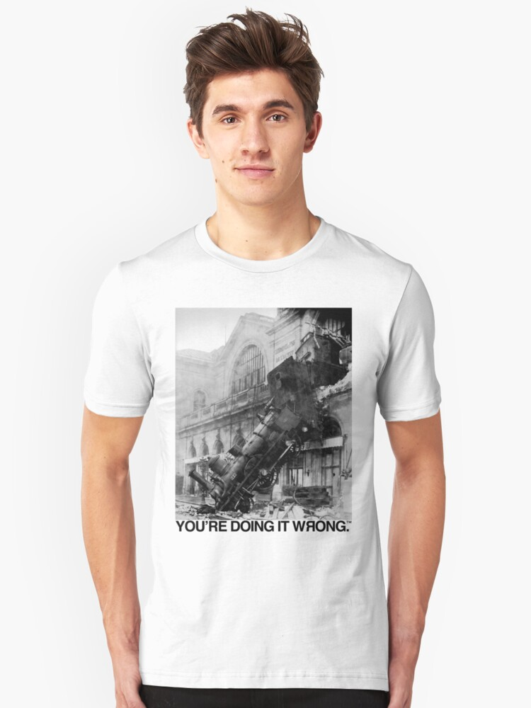 Steam Train   You're Doing It Wrong by TweetTees