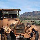 Vintage Dodge & Flinders Ranges, South Australia (Y) by Adrian Paul