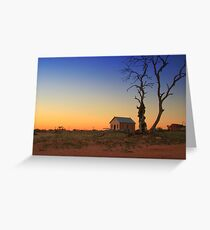 Gold Over Silverton Greeting Card