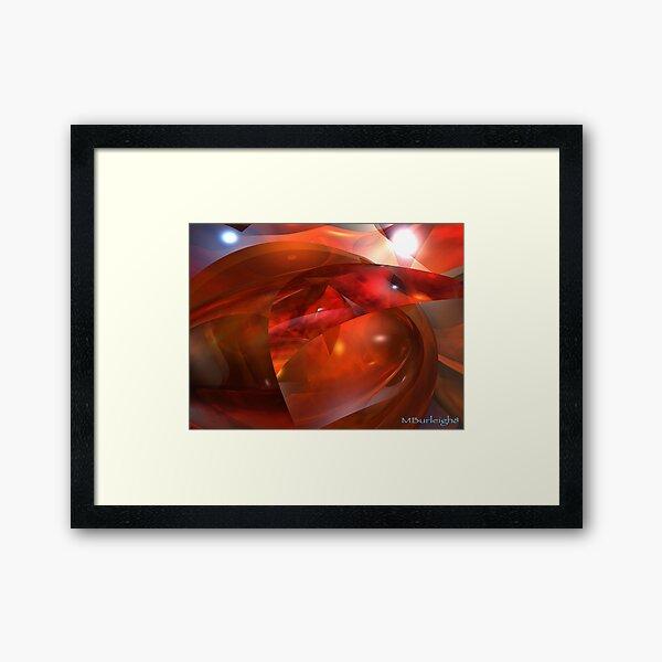 fire stone Framed Art Print