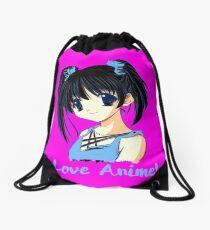 Ich liebe Anime (3) Turnbeutel