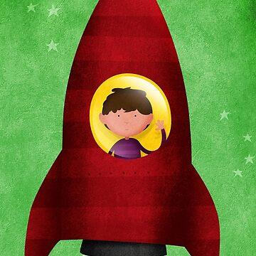 Rocket boy by Muck959