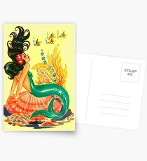 Mermaid Postkarten