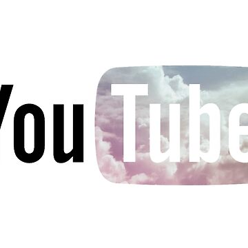 Pastel Sky YouTube Logo by amberdaisy