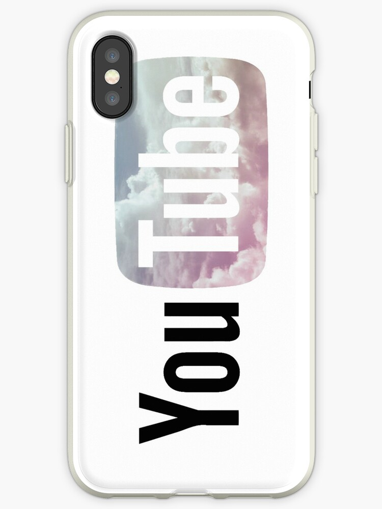 Pastel Sky Youtube Logo Iphone Cases Covers By Amberdaisy Redbubble
