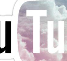 Pastel Sky YouTube Logo Sticker