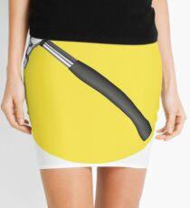 captain hammer symbol Mini Skirt