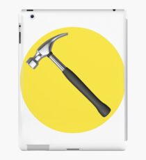 captain hammer symbol iPad Case/Skin