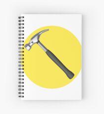 captain hammer symbol Spiral Notebook