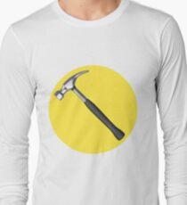captain hammer symbol Long Sleeve T-Shirt