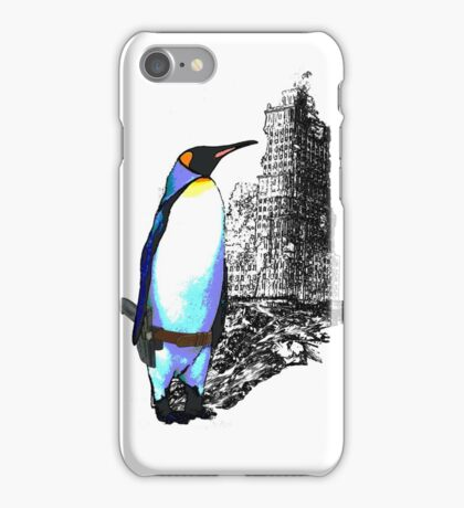 penguins win in the end iPhone Case/Skin